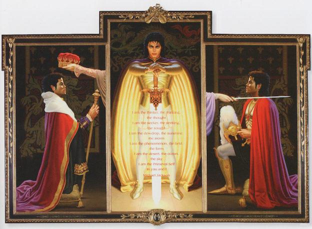 Coronando al rey del pop