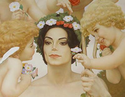 Sale a la luz la perturbadora colección secreta de cuadros de Michael Jackson