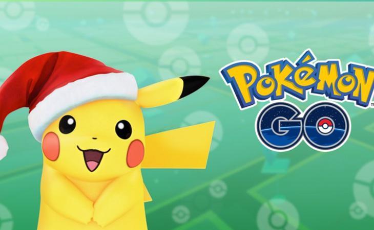 Edición especial de Pikachu para Navidad