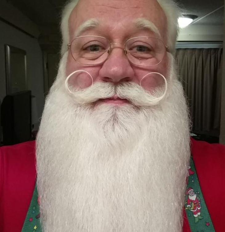 Finalmente volverá a hacer de Santa Claus