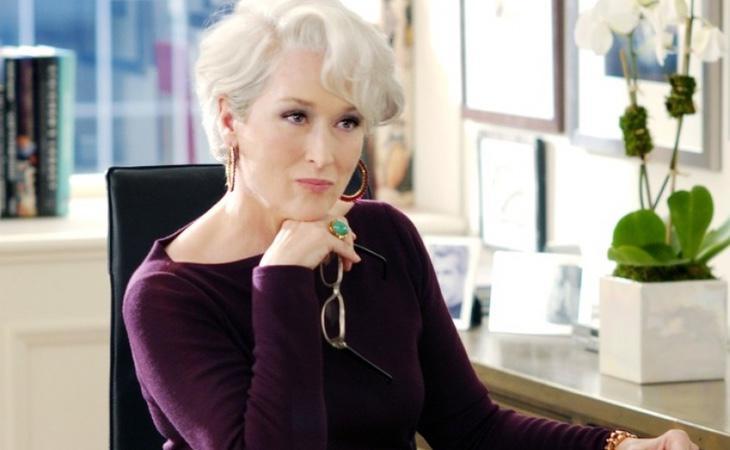 Miranda Priestly, interpretada por Meryl Streep