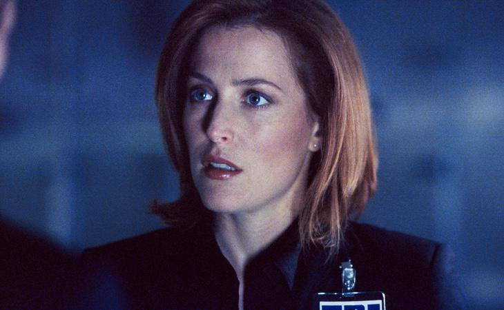 Dana Scully, interpretada por Gillian Anderson