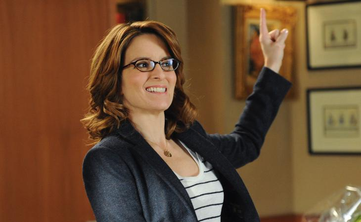Liz Lemon, interpretada por Tina Fey
