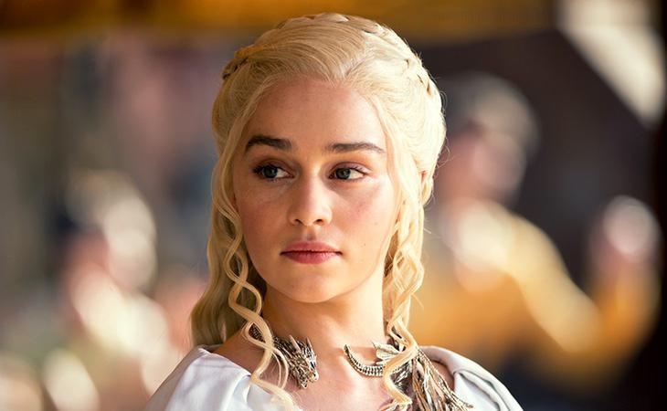 Daenerys Targaryen, interpretada por Emilia Clarke