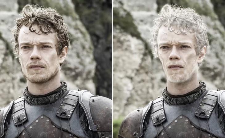 Theon Greyjoy salió peor parado en los libros