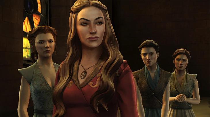 Los gráficos del juego hacen ver la semejanza facial de los actores reales de la serie.