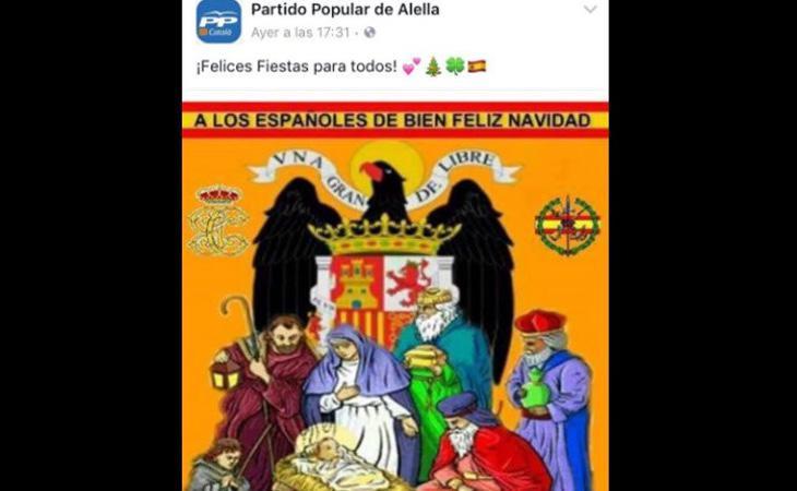 El águila es uno de los símbolos franquistas más reconocidos
