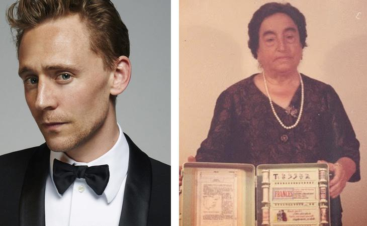 Tom Hiddleston / Ángela Ruiz Robles