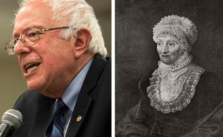 Bernie Sanders / Caroline Herschel