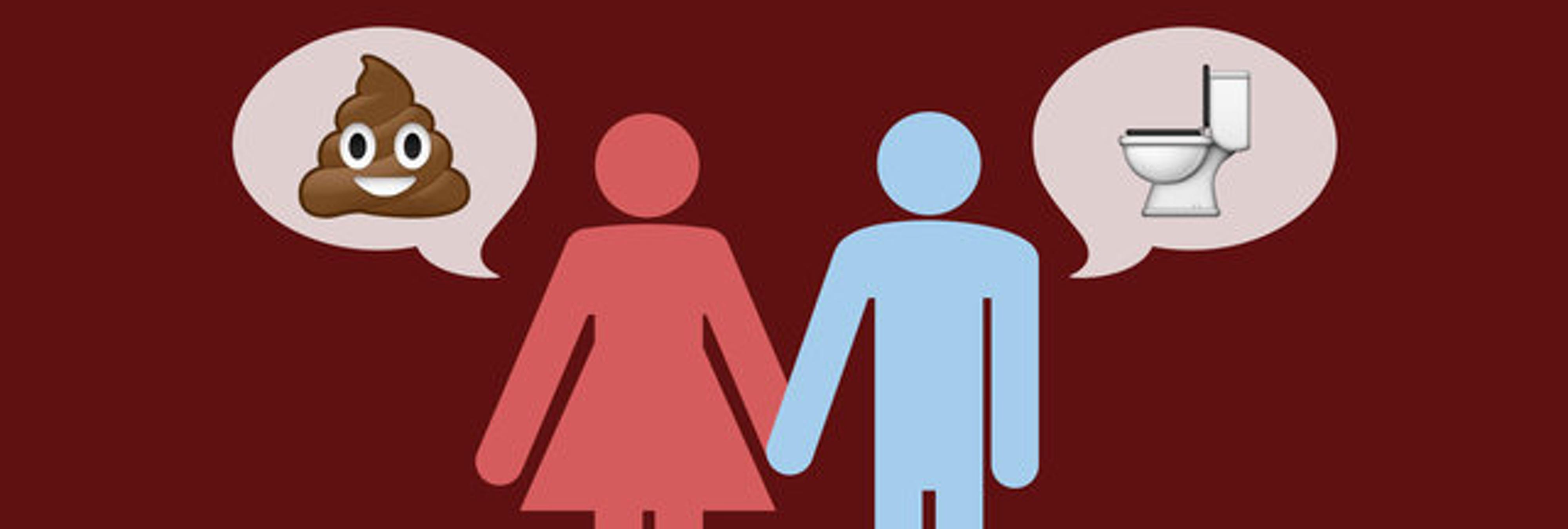 Las parejas que hablan de caca sin tabúes son más felices