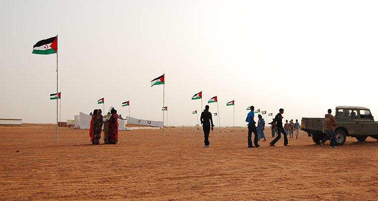 Campamentos de refugiados en el Tinduf (ACNUR)