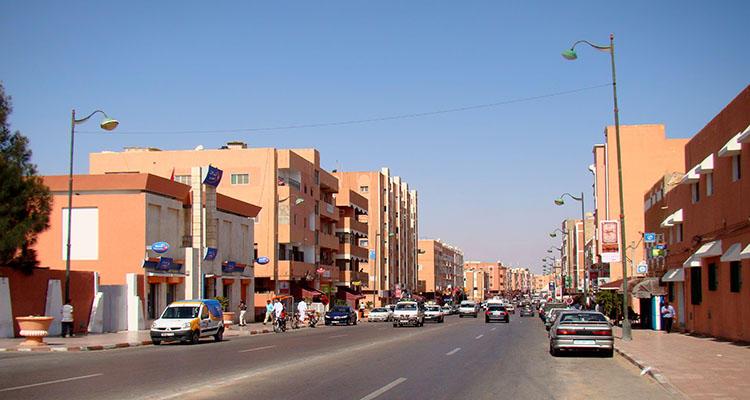 <!--StartFragment-->Avenida Makkah al-Mukarramah, en los territorios ocupados de El Aaiún