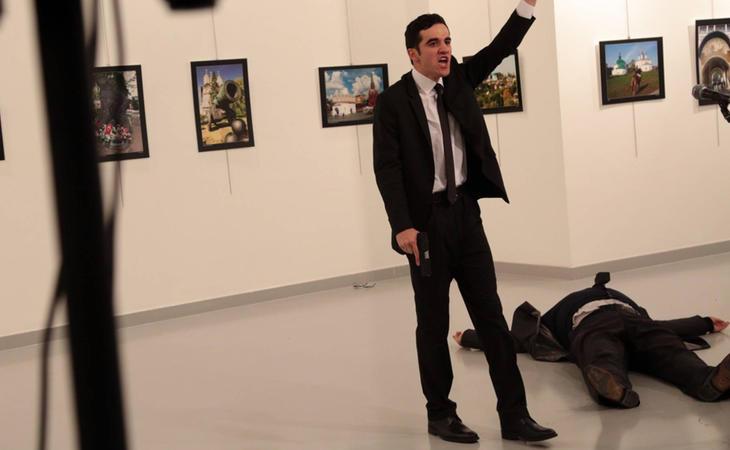 El embajador ruso en Turquía ha sido asesinado