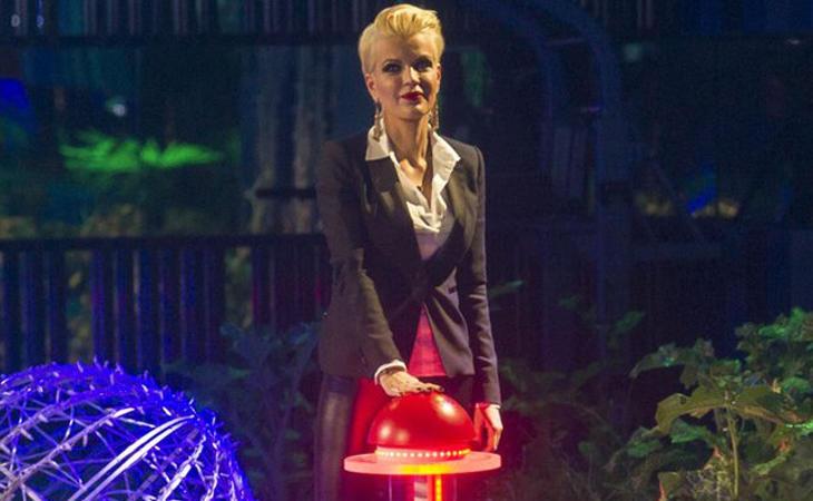 Bárbara volvió a Guadalix para encender las luces de Navidad