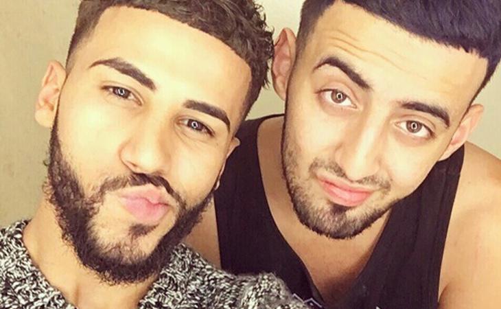 Adam Saleh y su amigo Slim Albaher fueron expulsados del avión