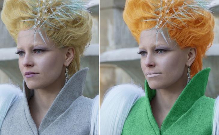 Effie era idéntica en libros y películas