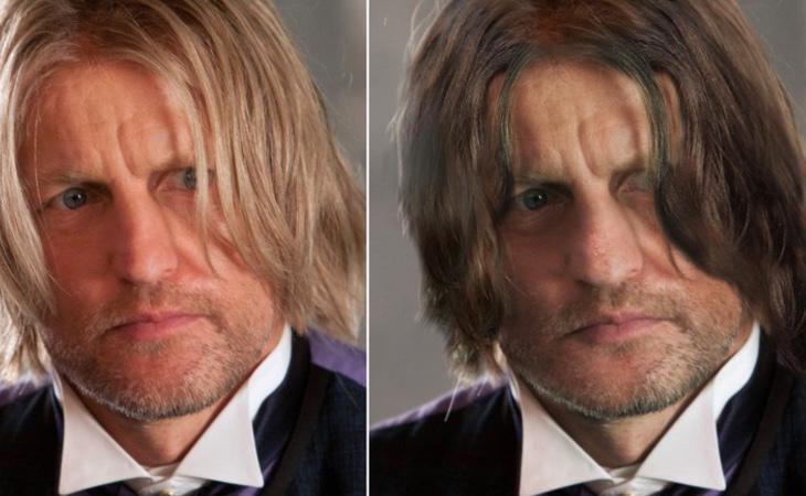 Haymitch era bastante diferente en los libros