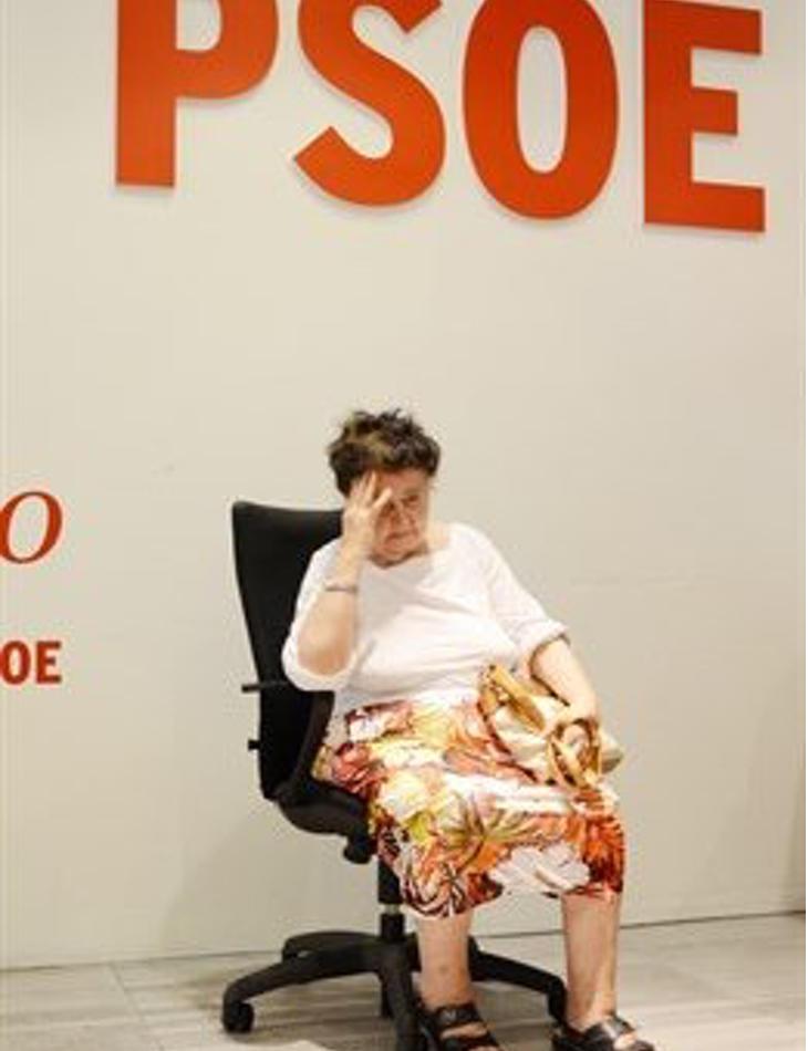 El PSOE celebrando la Lotería de Navidad (EP)