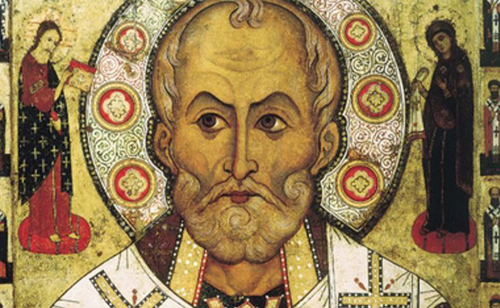 Representación de Nicolás de Bari