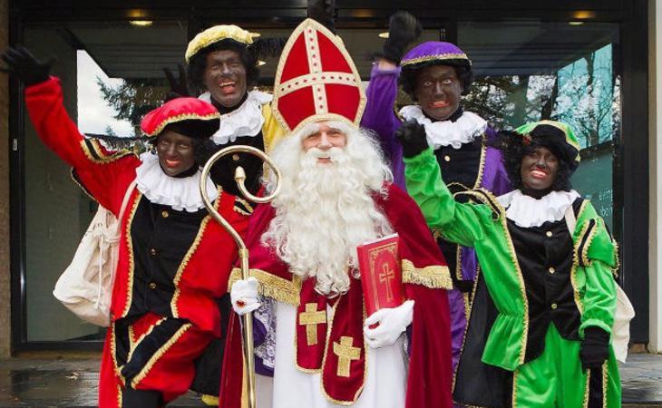 Disfraces de Sinterklaas y los Negritos
