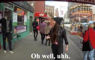 Esta chica tiene el método perfecto para combatir el acoso callejero