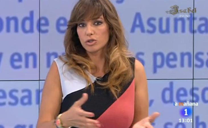 Mariló Montero dejó de presentar el programa de TVE