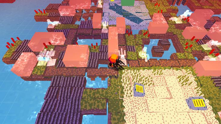 Unos gráficos muy 'Minecraft' esconden un gran juego