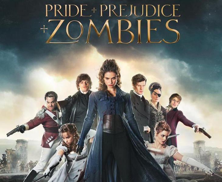 'Orgullo + prejuicio + zombies'