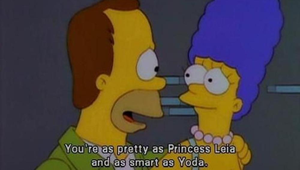 Escena de 'Me casé con Marge'