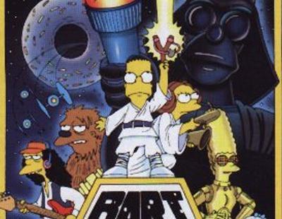 Los grandes homenajes de 'Los Simpson' a 'Star Wars'