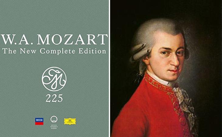 'Mozart 255: The new complete edition' ha venido más de 1,25 millones de copias