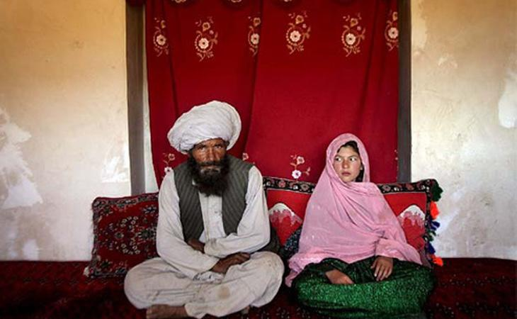 Muchas niñas afganas son obligadas a casarse cuando son muy jóvenes
