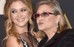 "Carrie Fisher crió a su hija, Billie Lord, ""sin género"""