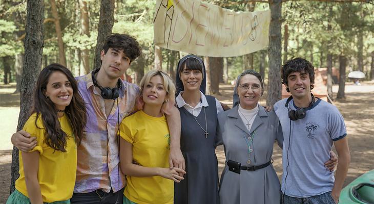 Directores y actrices de 'La Llamada'