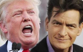 Charlie Sheen pide a Dios que el próximo en morir sea Donald Trump