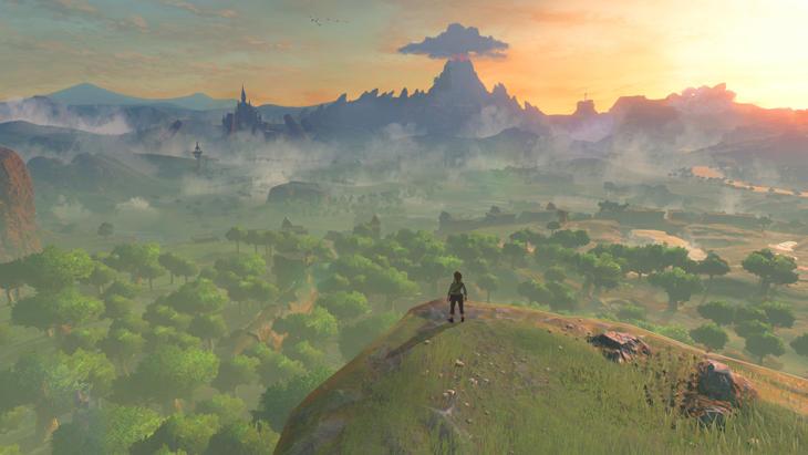 Todo lo que se ve podrá ser recorrido en el nuevo 'Zelda'