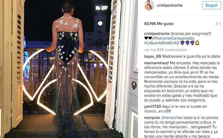 La presentadora subió fotografías a su cuenta personal, orgullosa de su look