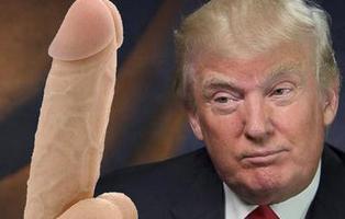 Ya puedes golpear a Donald Trump con un dildo