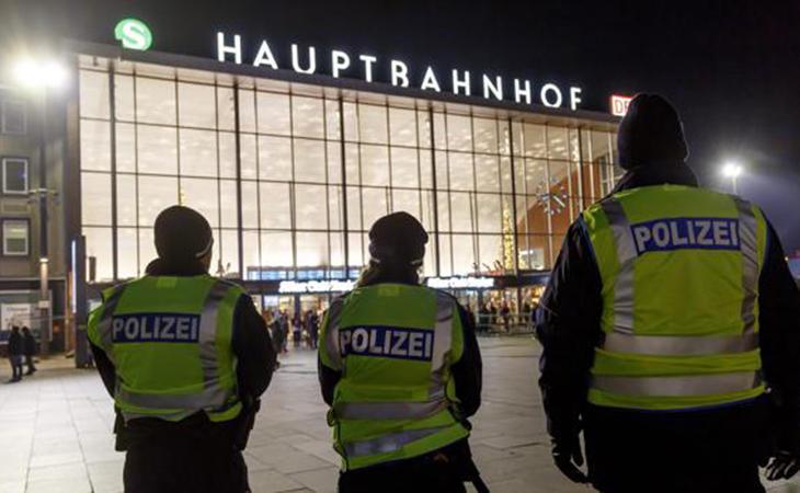 Policía Alemana en Colonia