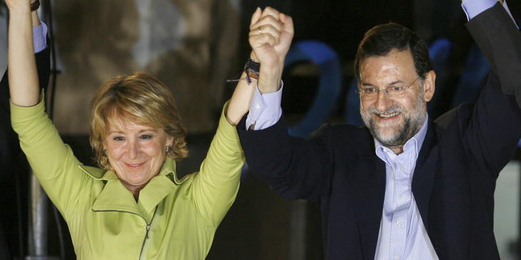 Rajoy y Aguirre patinaron a la hora de poner fecha de nacimiento a la nación española