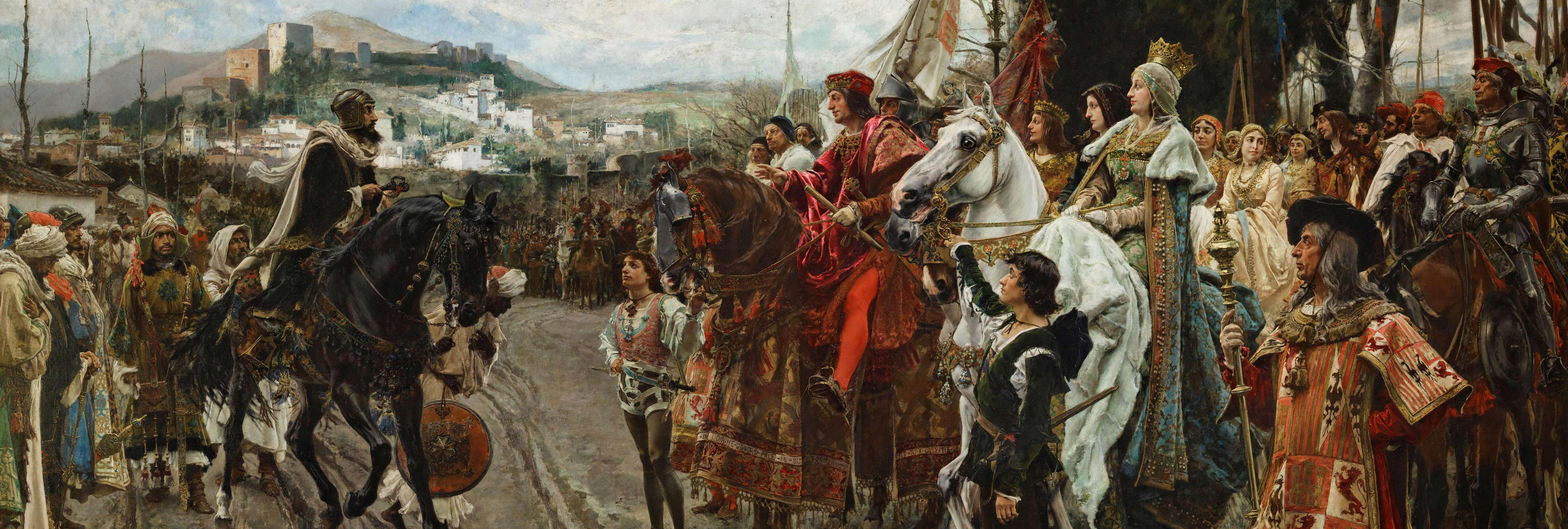 Lo que Esperanza Aguirre no contó sobre la Toma de Granada