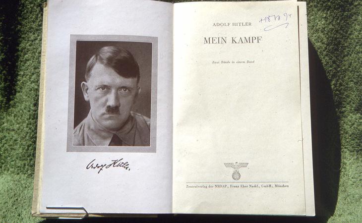 Edición original del 'Mein Kampf'