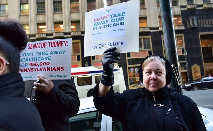 Protestas para proteger la ley sanitaria
