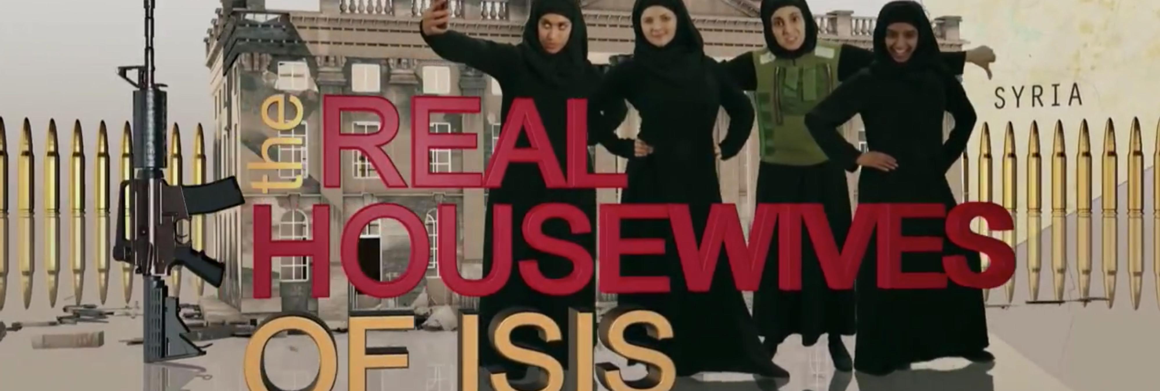 La BBC emite un sketch donde parodian a 'las amas de casa del ISIS'