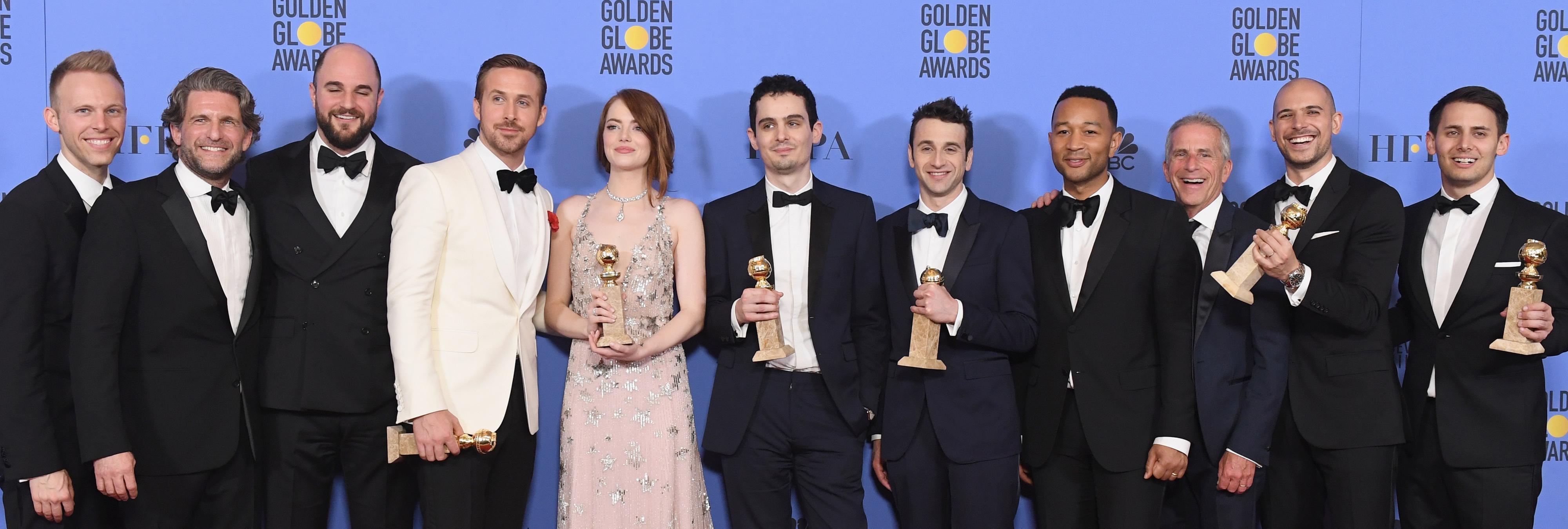 Las 10 películas con más Globos de Oro de la historia