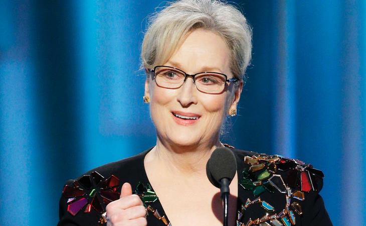 Meryl Streep lanzó un contundente mensaje a Donald Trump