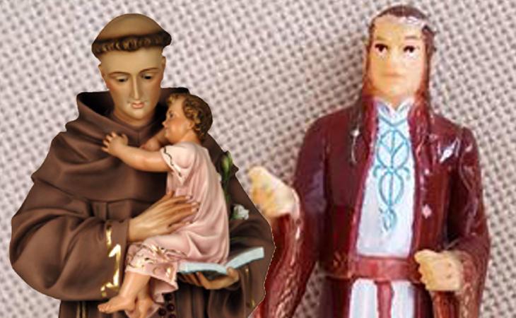 El primer santo elfo de la historia