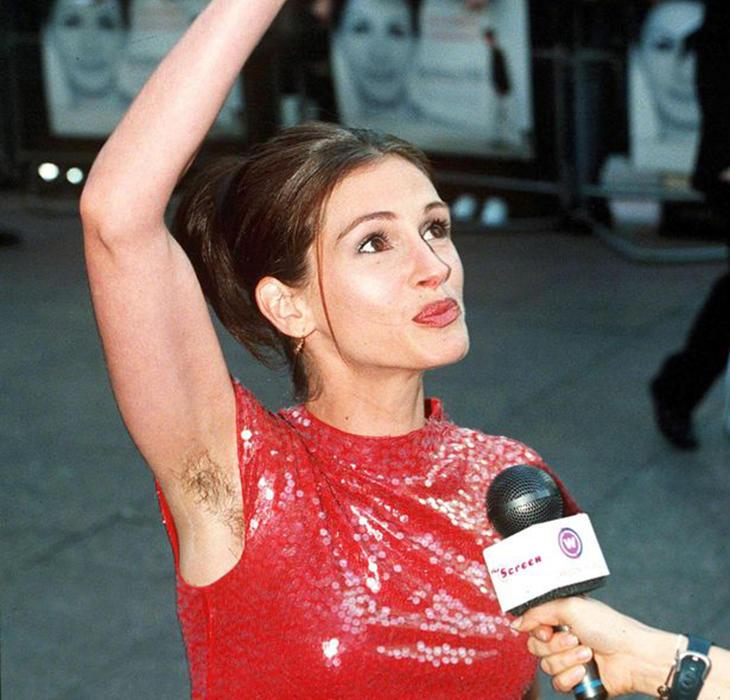 Julia Roberts, una de las actrices más atractivas de Hollywood