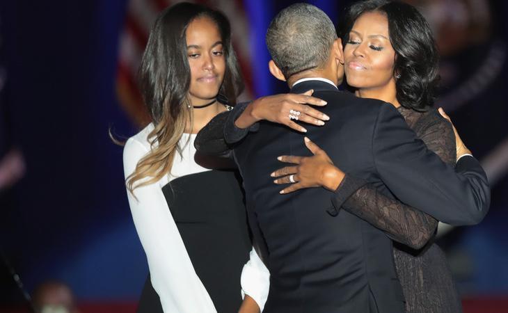 Los gestos de complicidad en la pareja fueron varios