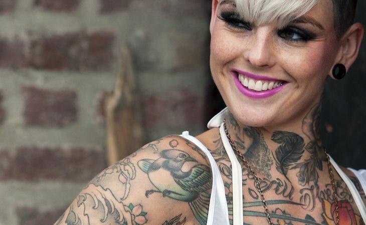 El número de europeos tatuados es muy elevado
